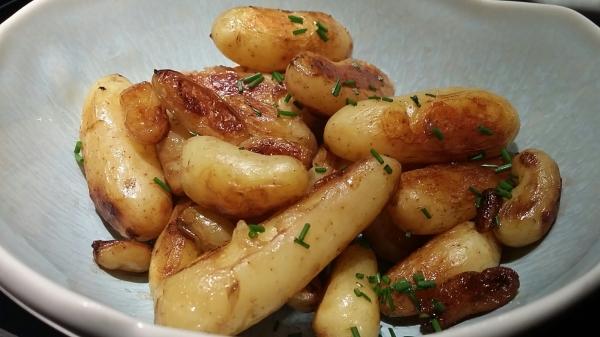 Pommes de terre ciboulette.