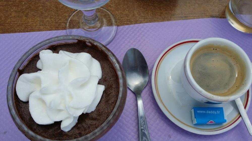 Mousse au chocolat maison...