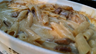 Gratin de Macaronis aux cèpes...