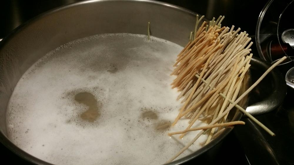 Mettre à cuire les pâtes