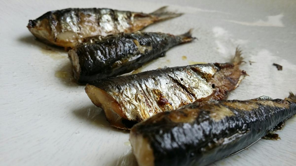 Filets de sardines grillés.