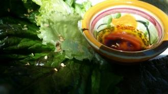 Salade du jardin...