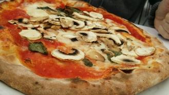 Pizza al funghi...