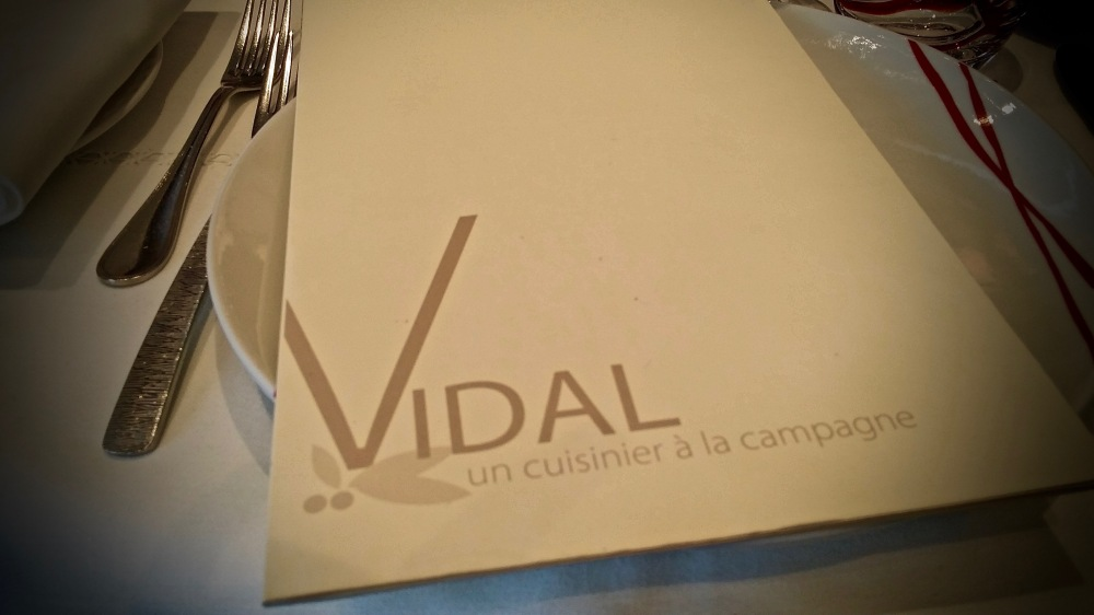 Vidal...un cuisinier à la campagne.