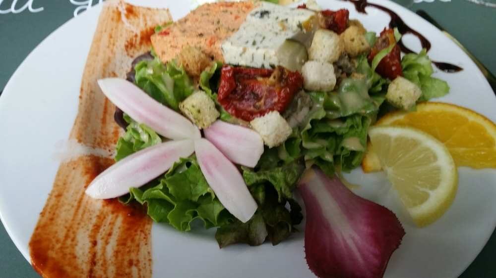 Salade ardéchoise...