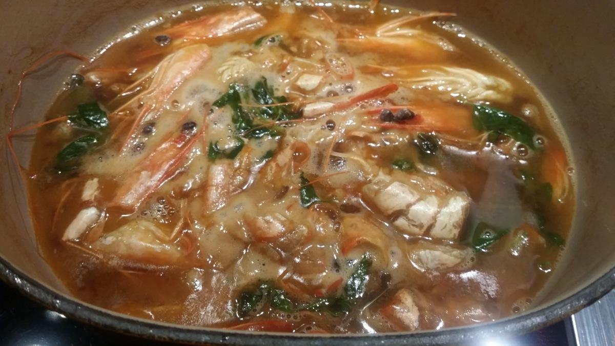 [Nos Basiques!] La sauce crustacés.