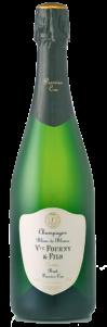 Champagne Veuve Fourny et Fils, brut 1er cru. Blanc de Blancs