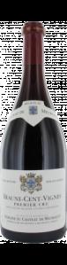 Beaune 1er cru rouge 2010. Les Cent Vignes. Château de Meursault.