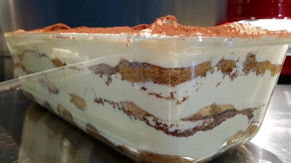Nos Basiques: crème légère au Mascarpone.
