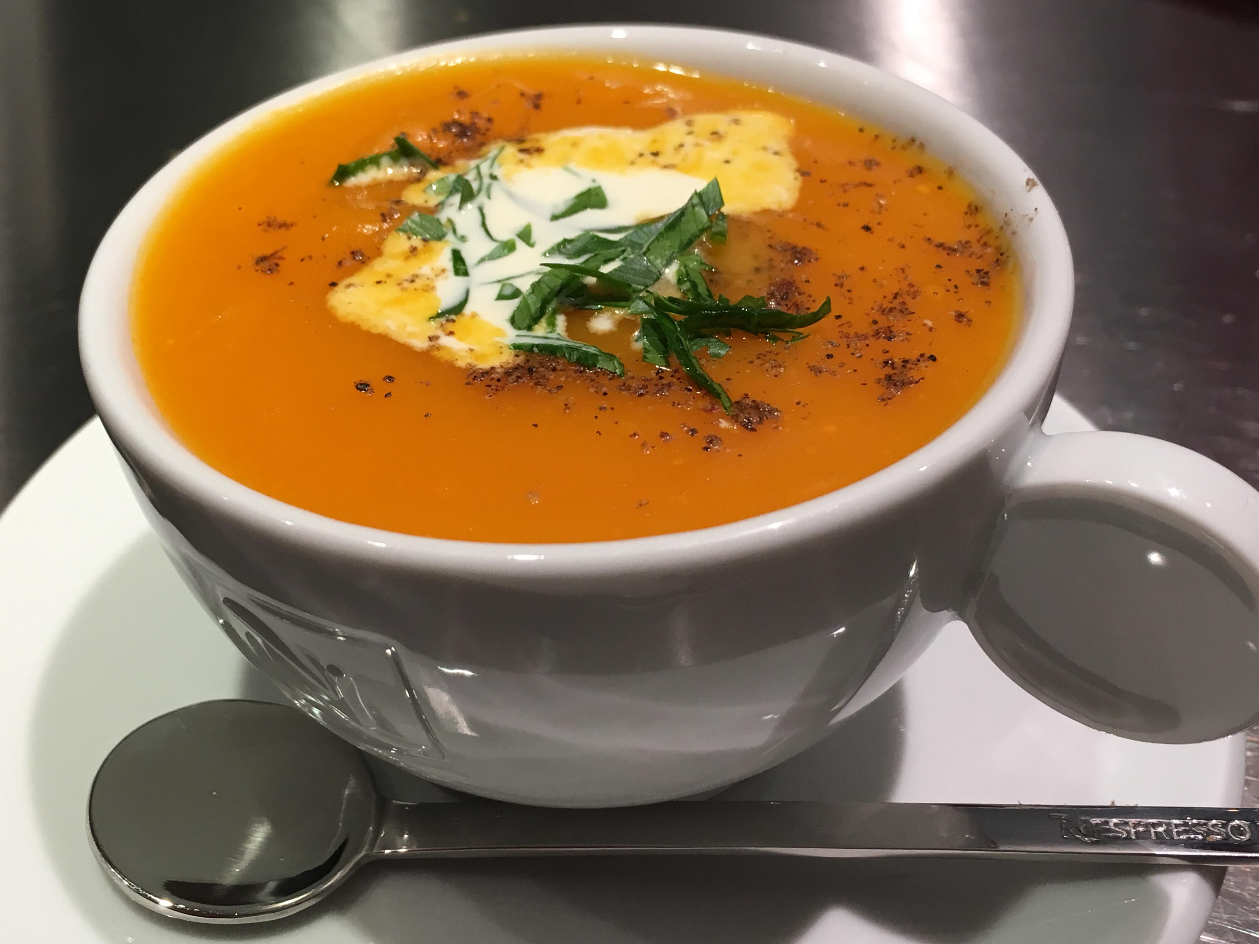 Une soupe à l'apéro...