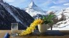 [Beifall für Schweizer!] Restaurant Enzian ( Findeln, Zermatt – Suisse).