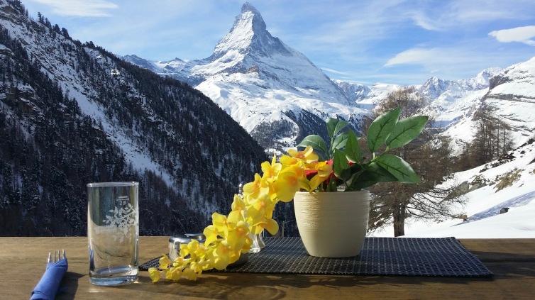 Vue sur le Matterhorn