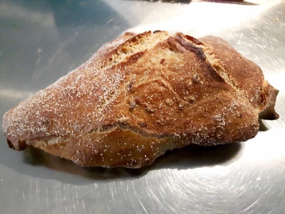 Le pain à l'épeautre.
