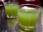 [Détox!] [Anti Gaspi!] Jus de concombre au citron et au gingembre.