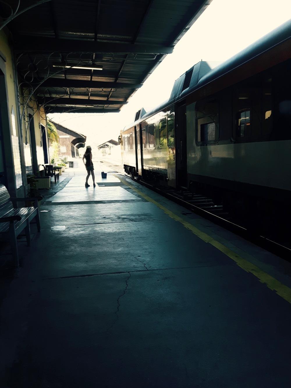 """By train...ou """"De comboio"""" si vous préférez!"""