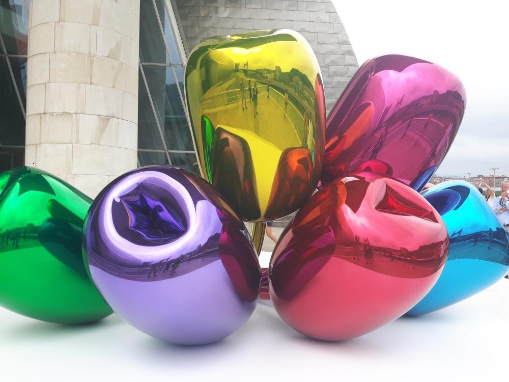 Le bouquet de tulipes de Jeff Koons