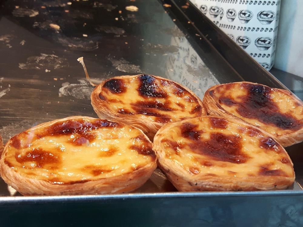 Les délicieuses Pastéis de Nata...les meilleures sont à Belem ;-)