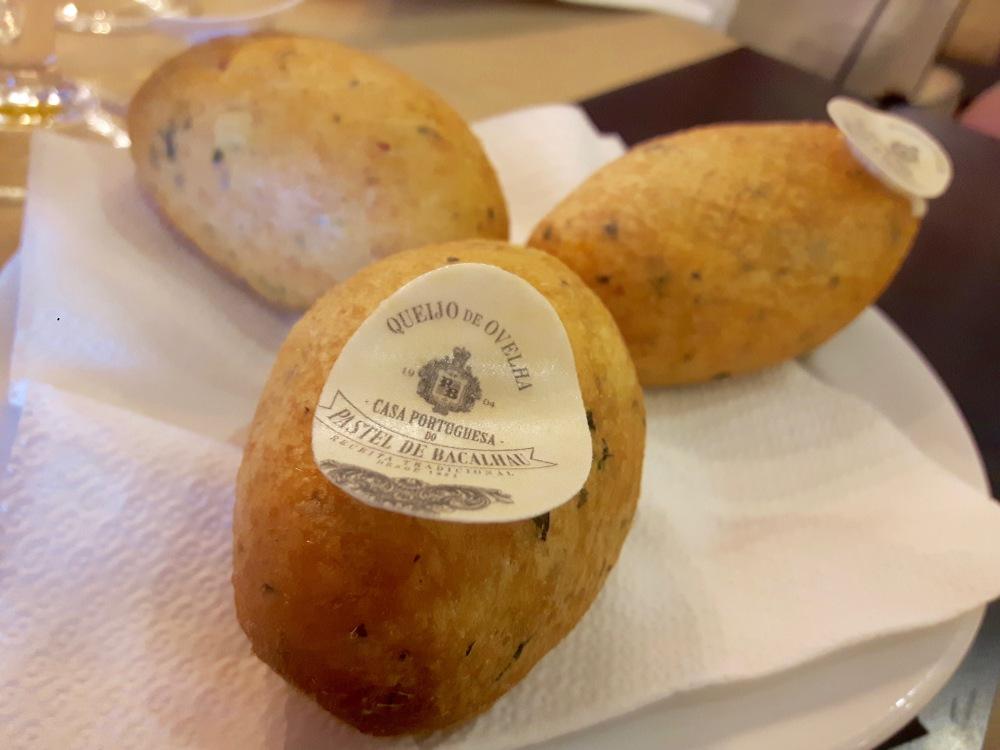 Queijo de Evelha (Pastel de Bacalhau)