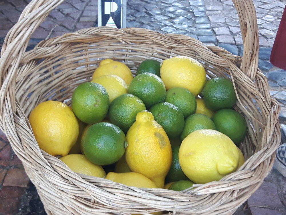 Un panier de citrons...