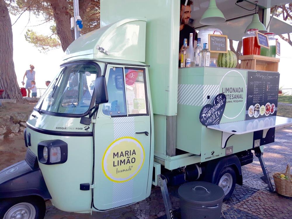 Un food truck...