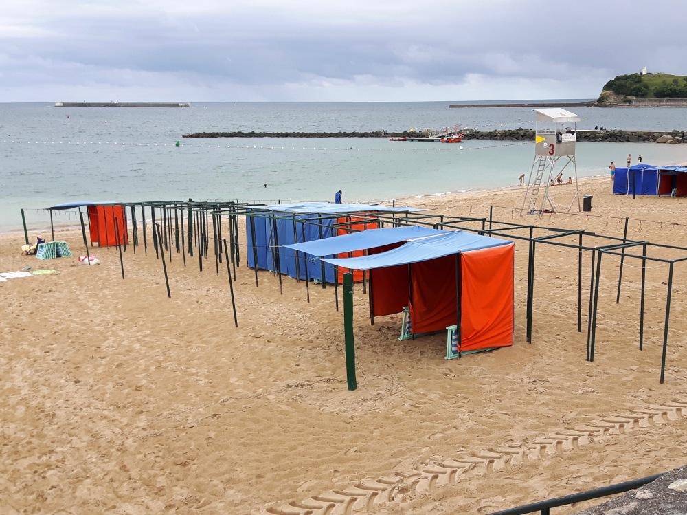 Les plages de Saint-Jean-de-Luz.