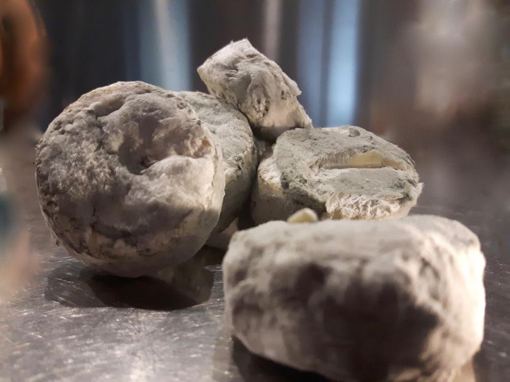 """Les """"pierres bleues"""" du GAEC des Lauriers."""