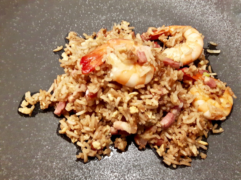 Le riz cantonais d'Adèle by Carole (Cuisiner en paix).