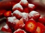 [Anti-Gaspi!] Sirop à la fraise et à la fleur d'oranger.