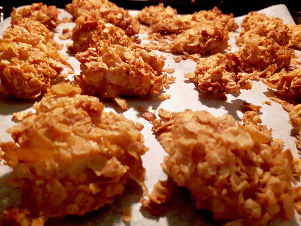 Nuggets de poulet.