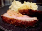 [Au four!] Filet de porc aux épices. Purée maison.