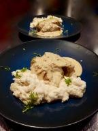 [Place aux plats mijotés!] Lapin à la moutarde et purée de céleri rave.