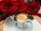 [Saint-Valentin] Pana Cotta à la gelée de rose.