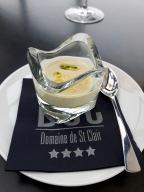 [Manger sous la pluie…] Restaurant «Le W» * – Domaine de Saint-Clair – Edward Cristaudo «MMMM» (Saint-Clair)