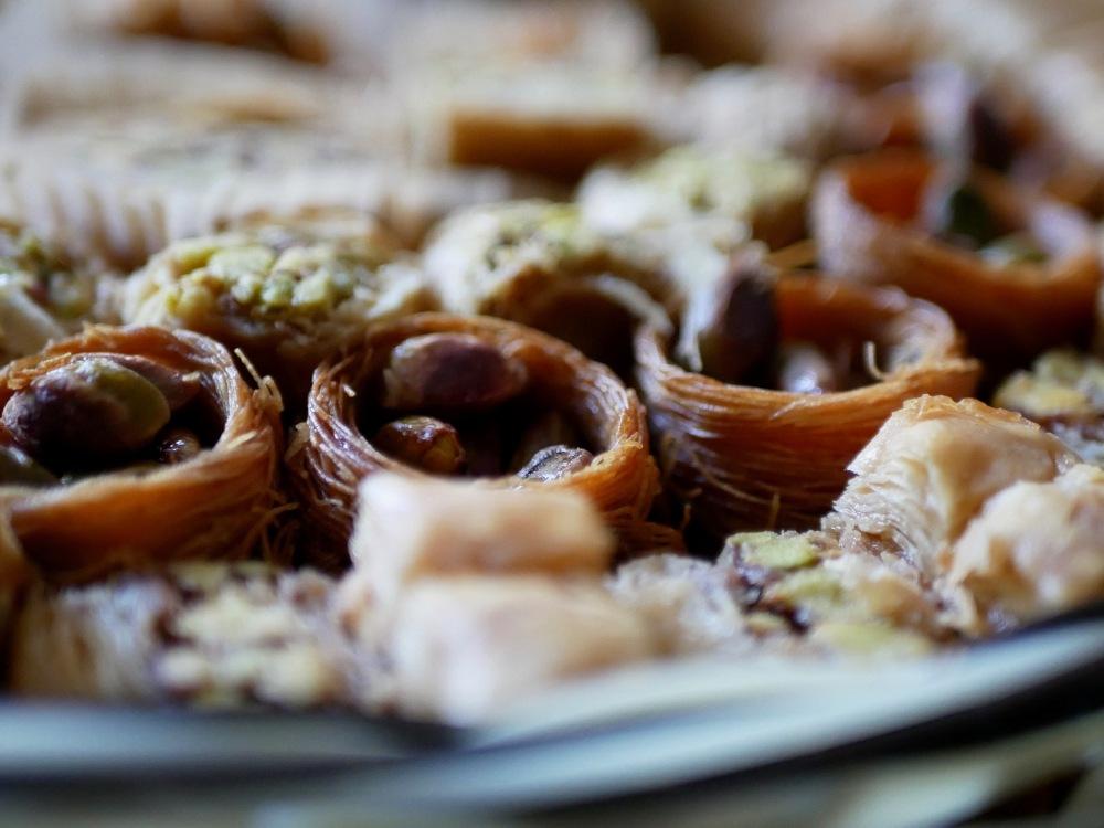 Pâtisseries orientales...