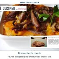 [Mise à l'honneur!][Inspiration Bernard Loiseau] Pavé de foie de veau en cocotte.