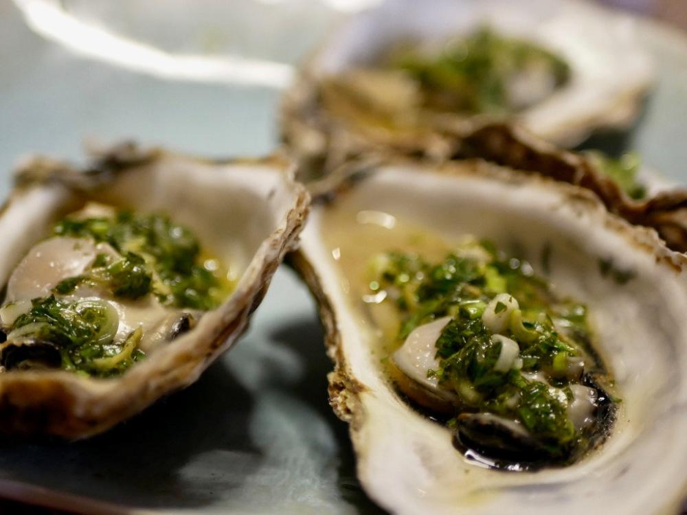 Chaudes les huîtres!