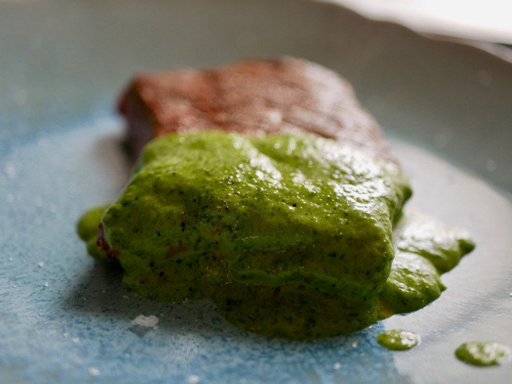 Filet de boeuf au pesto des ours