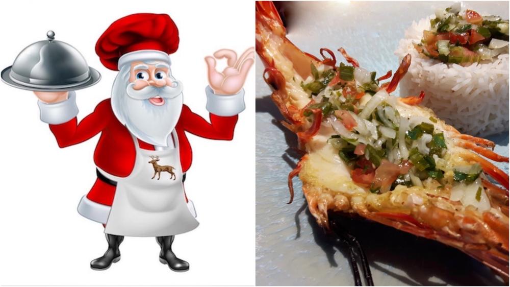 [Sur les braises!] Crevettes royales sauce épicée.