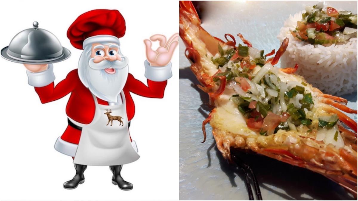 [Noël is back!][Sur les braises!] Crevettes royales sauce épicée.